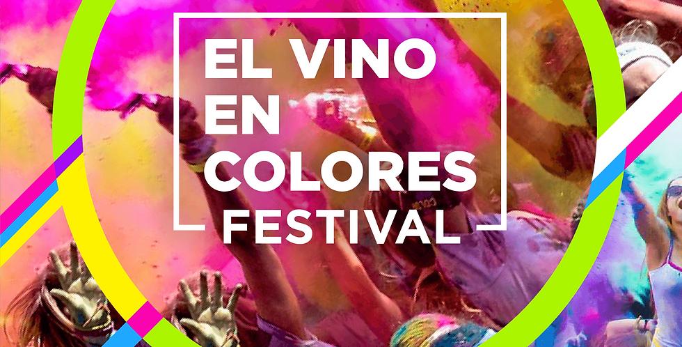 Boleto Festival El Vino en Colores