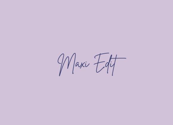 Online shop - Maxi Edit