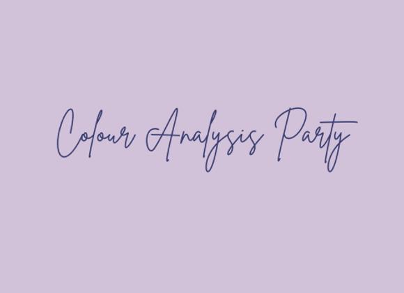 Colour Analysis Party