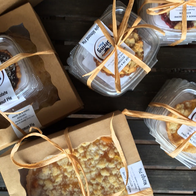 The Giving Pies to be delivered
