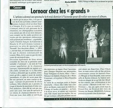 Cameroon Tribune 19 mai 2016