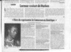Article du cameroon Tribune du 28 janvier 2016