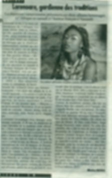 article de Cameroon Tribune avril 2014