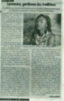 article de Cameroon Tribune avril 2014
