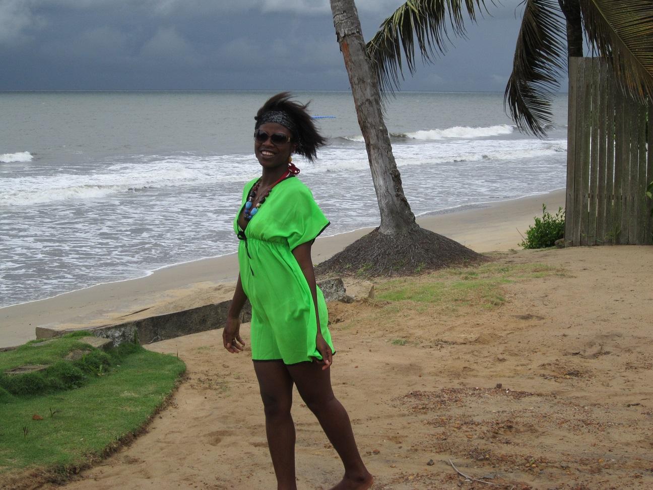 Lornoar sur la plage à KRIBI