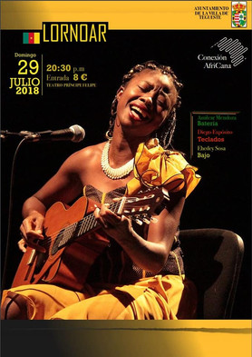 LORNOAR Singer Cameroon World Music