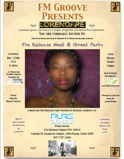 invitation pre relase