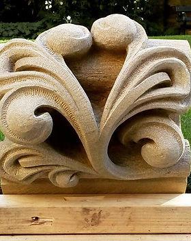 Stiff Leaf Carving for southwark Cathedr