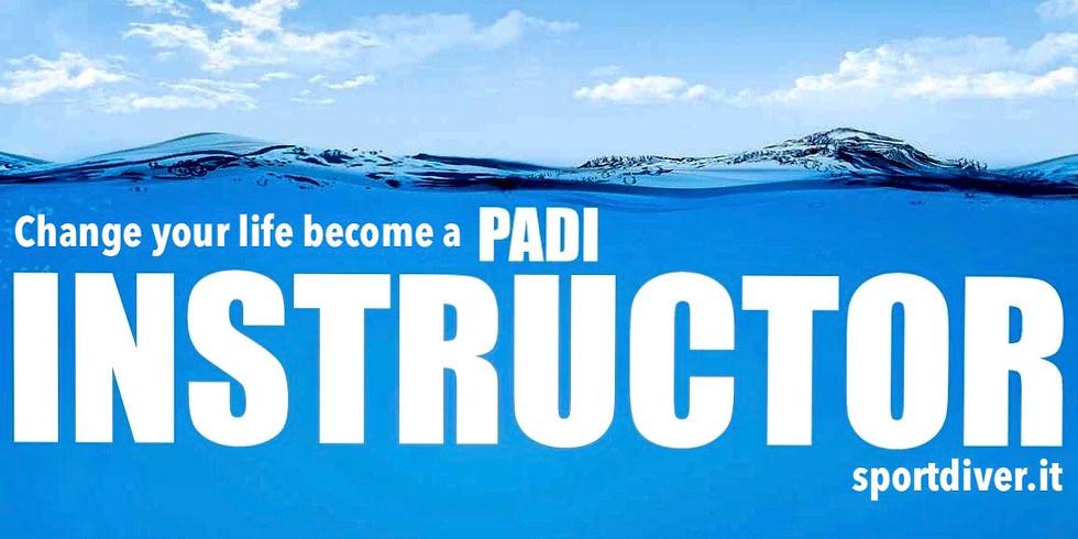 PADI Instructor Development Course 2021.1.