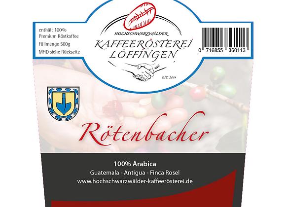 Rötenbacher-Jubiläumskaffee