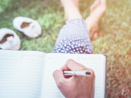 La escritura en sí es una terapia.