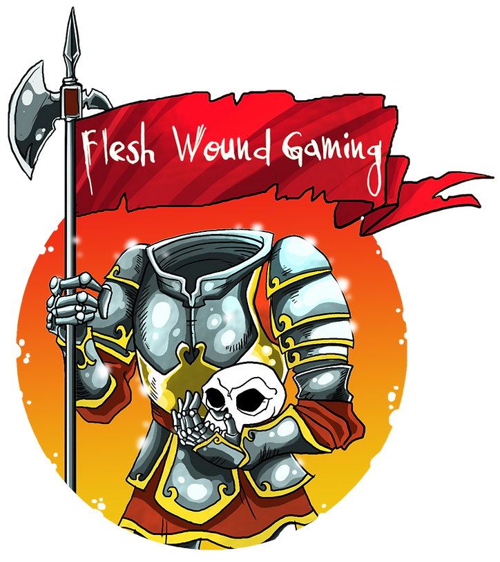 Flesh Wound Gaming Headless Knight Log