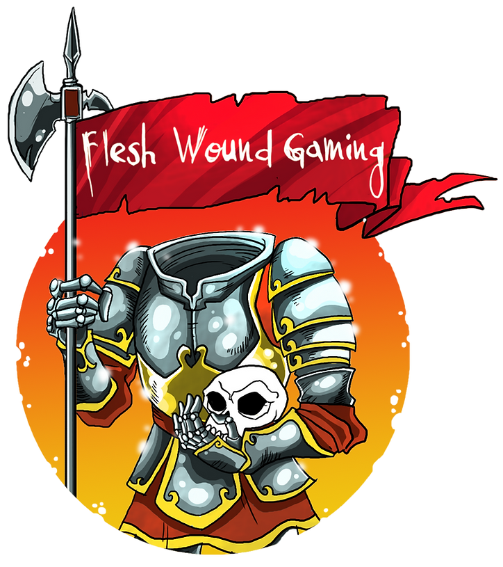 Flesh Wound Gaming Headless Knight Log