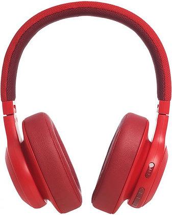 JBL E55BT RED Over Ear Headphone Wireless - Red