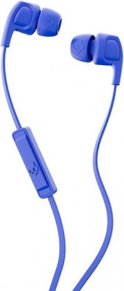 Skullcandy S2PGY-K616 Smokin Buds Wired Headset With Mic - Blue