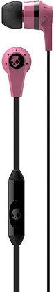 Skullcandy Ink'd 2 In-Ear Headset - Pink/Black, S2IKDY-133