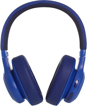 JBL E55BT BLU Over Ear Headphone Wireless - Blue