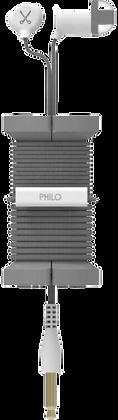 Philo - SPOOL EARPHONES - WITH HEADPHONES COIL -
