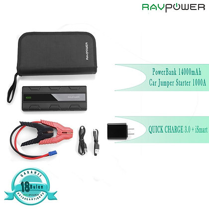 RAVPower PB14000mAH1000A QC3.0
