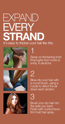 Expand Every Strand withAveda thickening tonic