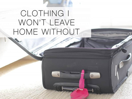 CLOTHES TO PACK FOR EVERY TRIP