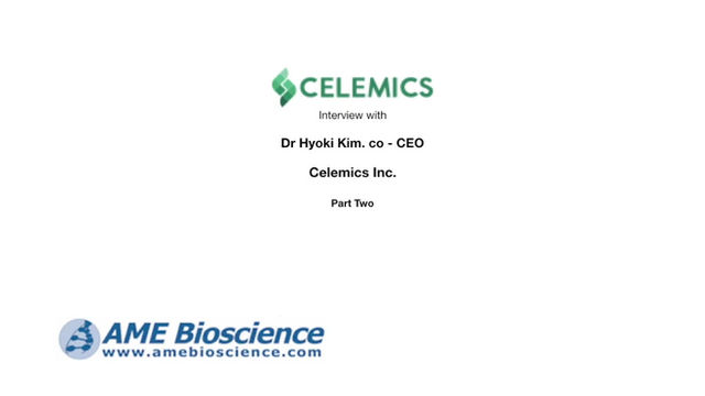 Part 2. Celemics Interview with Dr. Hyoki Kim