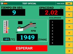 prueba acelerando