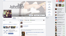 Like! Jon Johnson on Facebook