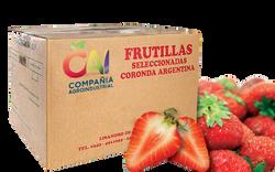frutillas congeladas