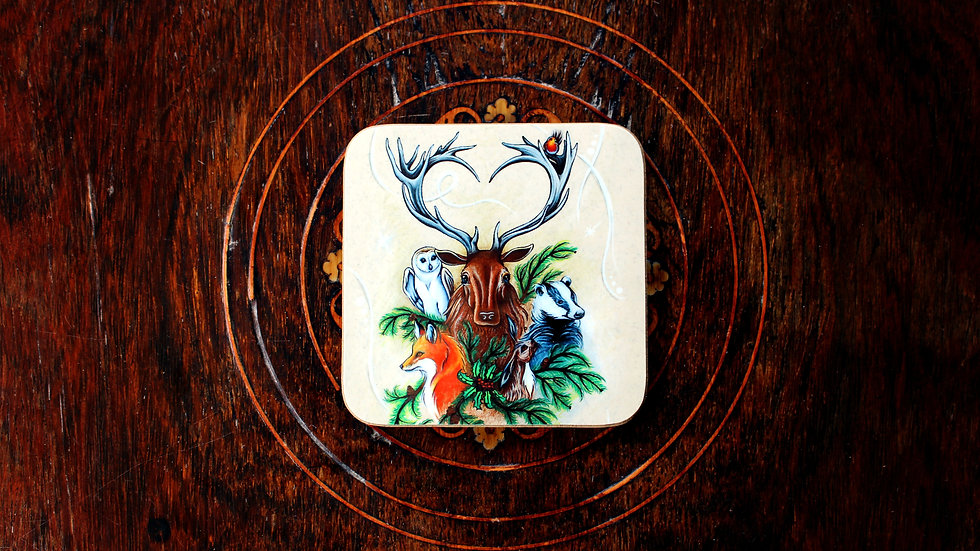 The Yuletide Brethren - Coaster