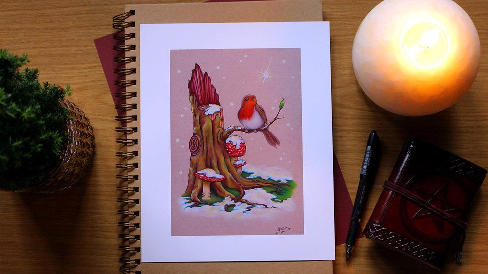 Snowgazer - Art Print