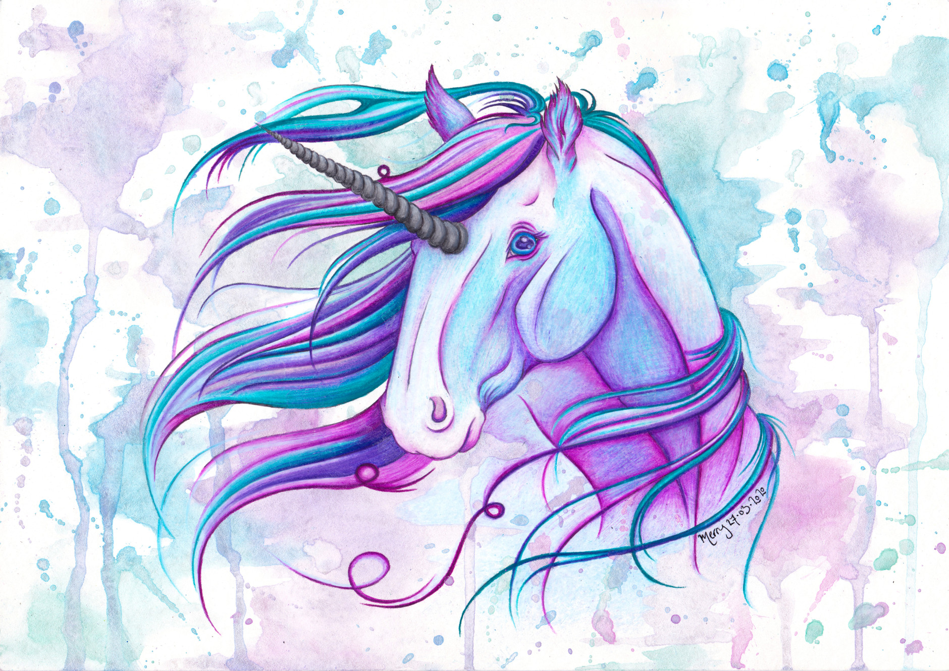 Waterhorse Artistry Wild And Whimsical Art And Illustration