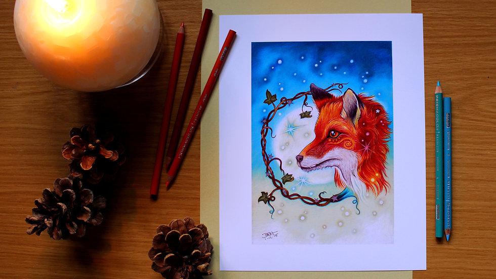 Midwinter Moon - Art Print