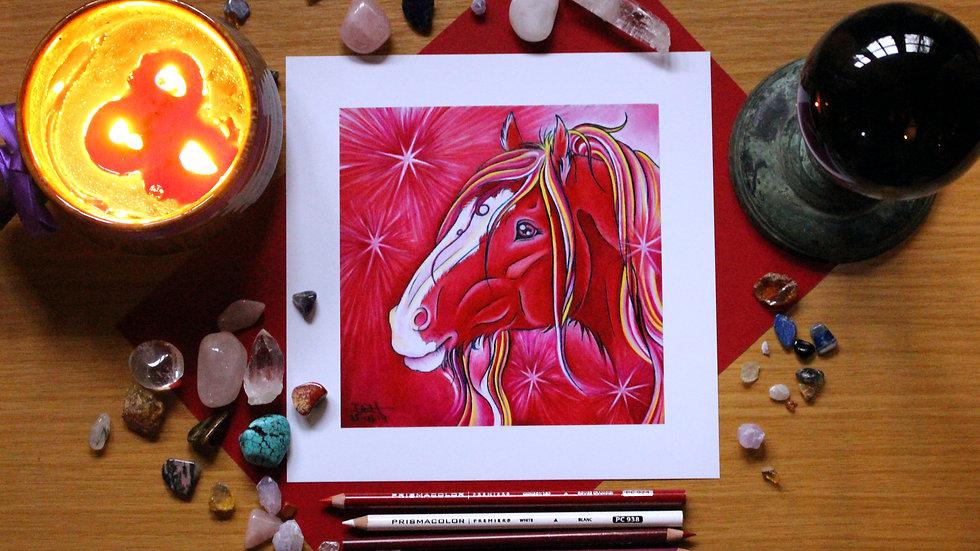 Ruby - Art Print