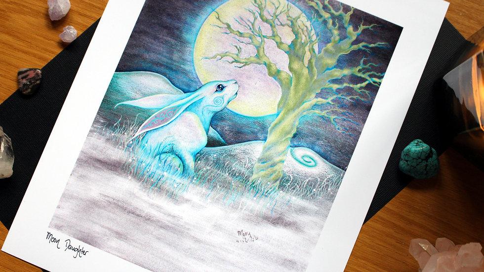 Moon Daughter - Art Print