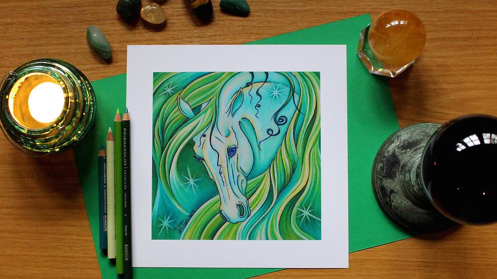 Emerald - Art Print