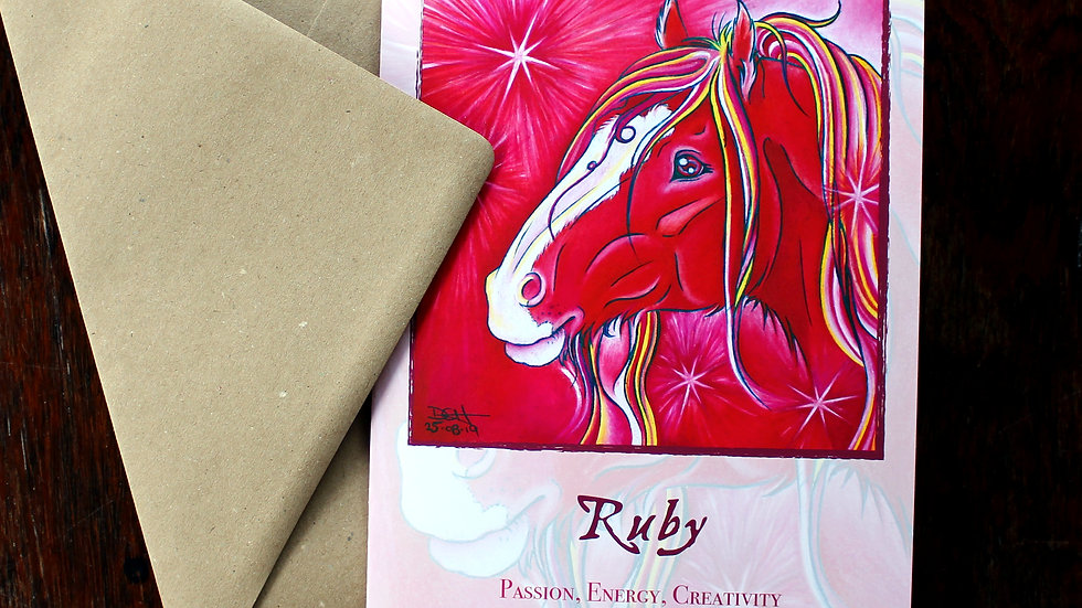Ruby - Greeting Card