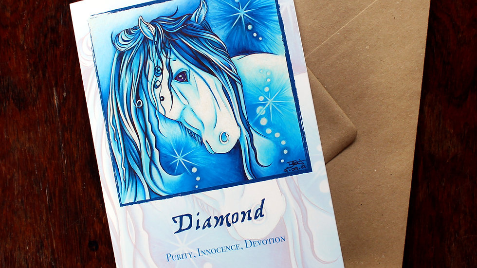 Diamond - Greeting Card