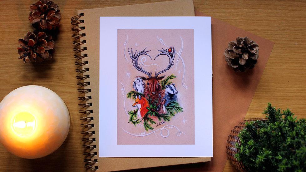 The Yuletide Brethren - Art Print