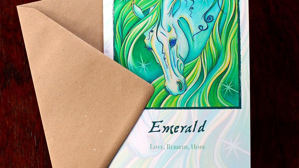Emerald - Greeting Card