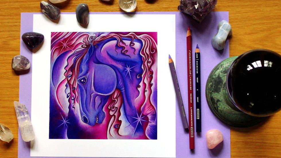 Amethyst - Art Print