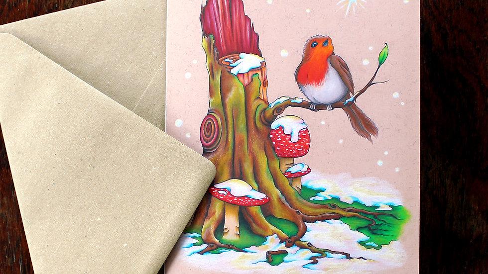 Snowgazer - Greeting Card