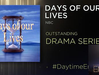 Days Of Our Lives Wins 5 Emmy's 2018