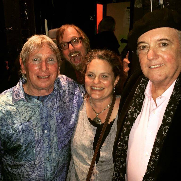 with Jim Valley and Keith Allison, and photo bombe
