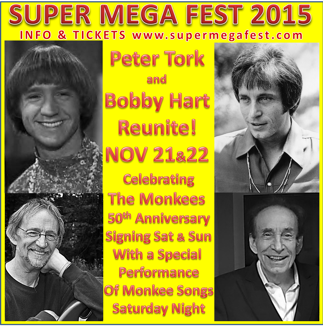 Bobby & Peter Tork Team up