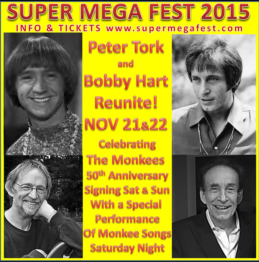 Bobby & Peter Tork Team up