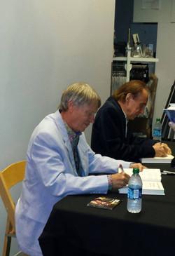 Bobby & Co-Author Glen signing books