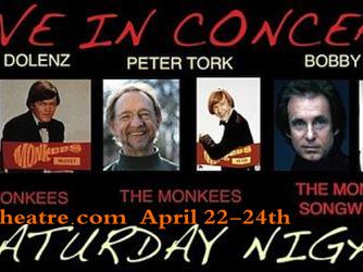Bobby Hart, Micky Dolenz & Peter Tork Performing Together!