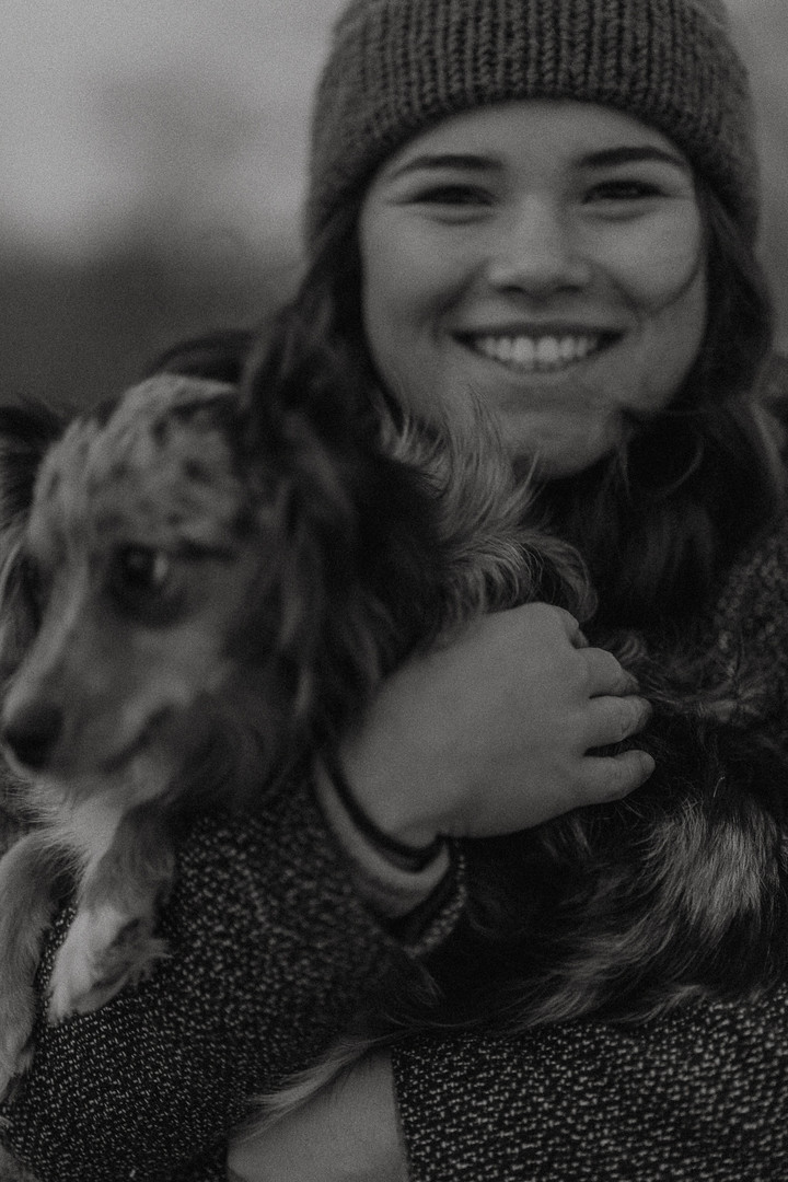 Trinity Hoffland Dog Dakota
