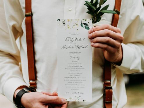 Favorite Wedding Day Invitations and Programs | Wedding Stationery